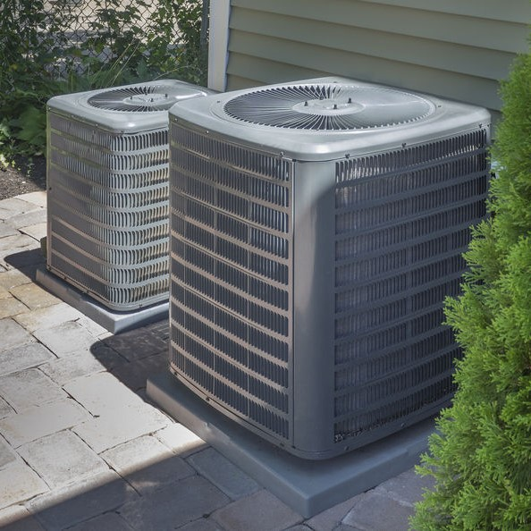 AC outside of house