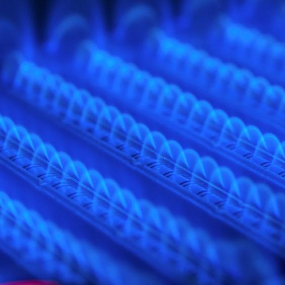 burner in furnace