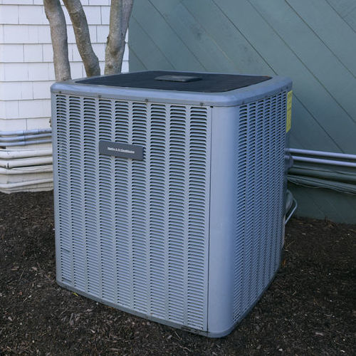 AC Maintenance for Unit Outside Home